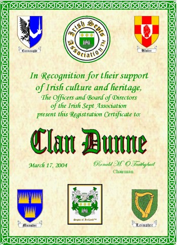 Irish Sept Associations Clans And Septs Of Ireland